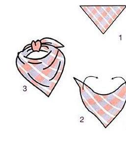 三角巾既可以给宝宝当口水巾,也可以给宝宝当头巾,冬季还可以给宝宝图片